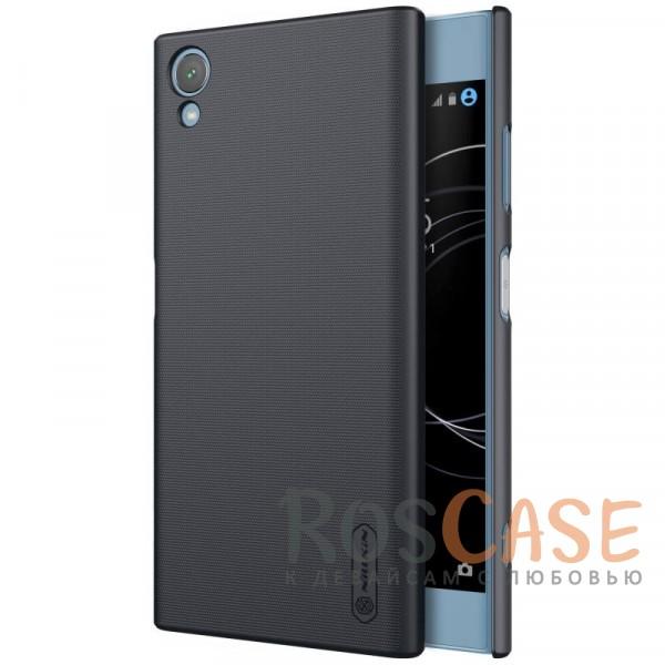 Матовый чехол для Sony Xperia XA1 Plus / XA1 Plus Dual (+ пленка) (Черный)Описание:совместимость: Sony Xperia XA1 Plus / XA1 Plus Dual;материал: поликарбонат;тип: накладка;закрывает заднюю панель и боковые грани;защищает от ударов и царапин;рельефная фактура;не скользит в руках;ультратонкий дизайн;защитная плёнка на экран в комплекте.<br><br>Тип: Чехол<br>Бренд: Nillkin<br>Материал: Поликарбонат