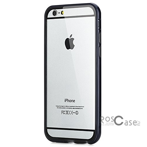 фотография Синий / Navy Blue Бампер ROCK Duplex Slim Guard для Apple iPhone 6/6s (4.7