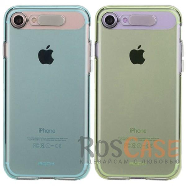 Светящийся глянцевый чехол с цветной подсветкой входящих вызовов для Apple iPhone 7 / 8 (4.7)Описание:производитель  - &amp;nbsp;Rock;совместим с Apple iPhone 7 / 8 (4.7);материал  -  термополиуретан;тип  -  накладка.&amp;nbsp;Особенности:светится во время входящих звонков;прочный;легко чистится;не увеличивает габариты;защита экрана благодаря выступающим бортикам;имеет все функциональные вырезы;защищает от царапин и ударов.<br><br>Тип: Чехол<br>Бренд: ROCK<br>Материал: TPU