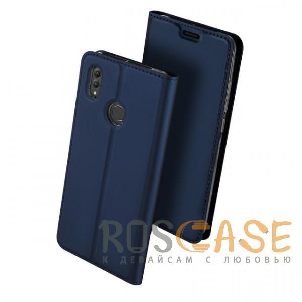 Изображение Синий Dux Ducis | Чехол-книжка для Huawei Honor Note 10 с функцией подставки и картхолдером