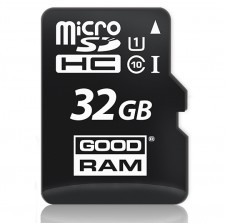 Карта памяти GoodRam microSDHC UHS-1 32 GB Class 10 + SD adapter для Samsung Galaxy S6 Edge (G925F)