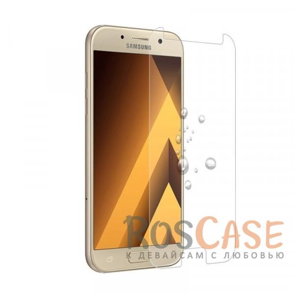 Защитное стекло Ultra Tempered Glass 0.33mm (H+) для Samsung A520 Galaxy A5 (2017) (в упаковке) (Прозрачное)Описание:совместимо с Samsung A520 Galaxy A5 (2017);материал: закаленное стекло;тип: защитное стекло на экран.&amp;nbsp;<br><br>Тип: Защитное стекло<br>Бренд: Epik