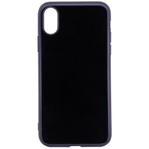 "Глянцевый чехол для Apple iPhone X (5.8"")/XS (5.8"") с торцами под кожу"