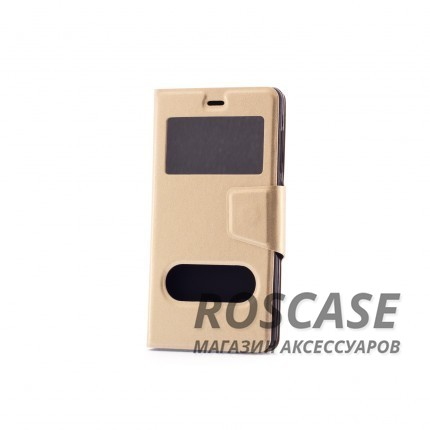 Чехол (книжка) с TPU креплением для Xiaomi Mi 4i / Mi 4c (Золотой)Описание:производитель - бренд&amp;nbsp;Epik;разработан для Xiaomi Mi 4i / Mi 4c;материал: искусственная кожа;тип: чехол-книжка.&amp;nbsp;Особенности:имеются функциональные вырезы;магнитная застежка;защита от ударов и падений;окошки в обложке;ответ на вызов через обложку;не скользит в руках.<br><br>Тип: Чехол<br>Бренд: Epik<br>Материал: Искусственная кожа