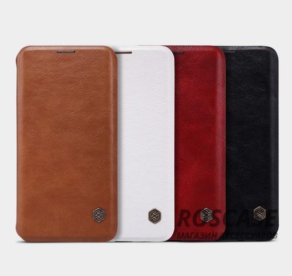 Кожаный чехол (книжка) Nillkin Qin Series для Samsung Galaxy S6 Edge PlusОписание:производитель:&amp;nbsp;Nillkin;совместим с Samsung Galaxy S6 Edge Plus;материал: натуральная кожа;тип: чехол-книжка.&amp;nbsp;Особенности:слот для визиток;ультратонкий;фактурная поверхность;внутренняя отделка микрофиброй.<br><br>Тип: Чехол<br>Бренд: Nillkin<br>Материал: Натуральная кожа