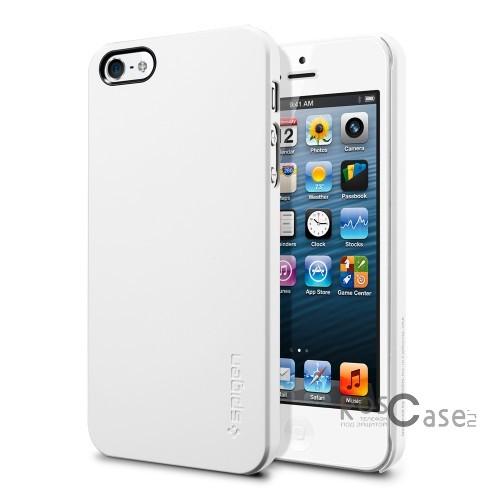 Пластиковая накладка SGP Ultra Thin Air Series для Apple iPhone 5/5S/SE (+ пленка) (Белый / Smooth White / SGP09505)Описание:бренд:&amp;nbsp;SGP;совместим с Apple iPhone 5/5S/5SE;используемые материалы: поликарбонат;форма чехла: накладка.&amp;nbsp;Особенности:соблюдено полное количество прорезей под функциональные объекты;тонкое исполнение;амортизация возникающей вибрации от падения;широкая палитра цветовых оттенков;пленка в комплекте;идеально прилегает.<br><br>Тип: Чехол<br>Бренд: SGP<br>Материал: Пластик