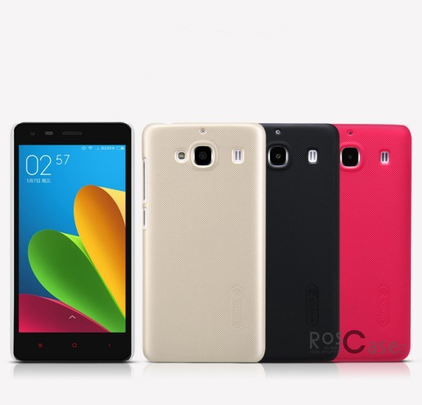 Чехол Nillkin Matte для Xiaomi Redmi 2 (+ пленка)Описание:производитель - бренд&amp;nbsp;Nillkin;материал - поликарбонат;совместимость - Xiaomi Redmi 2;тип - накладка.&amp;nbsp;Особенности:матовый;прочный;тонкий дизайн;не скользит в руках;не выцветает;пленка в комплекте.<br><br>Тип: Чехол<br>Бренд: Nillkin<br>Материал: Поликарбонат