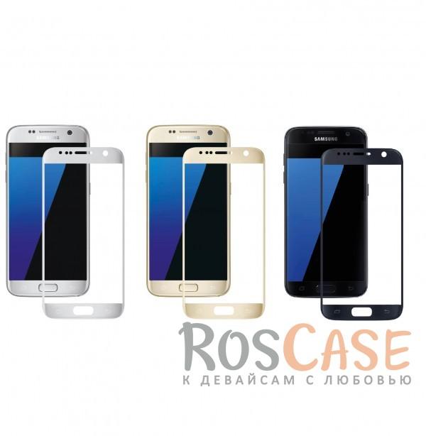 Защитное стекло 3D CaseGuru Tempered Glass для Samsung G930F Galaxy S7<br><br>Тип: Защитное стекло<br>Бренд: CaseGuru