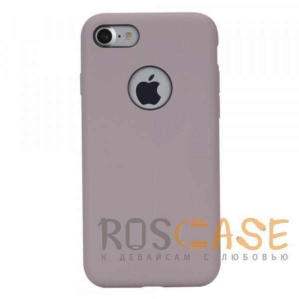 Ультратонкий силиконовый защитный чехол-накладка с гладким покрытием для Apple iPhone 7 / 8 (4.7) (Сиреневый / Light purple)Описание:производитель  - &amp;nbsp;Rock;форм-фактор  -  накладка;материал  -  термополиуретан;совместим с Apple iPhone 7 / 8 (4.7).Особенности:имеются проемы под внешние порты, динамик, камеру, регулятор громкости, вырез под логотип;обеспечен функциями &amp;laquo;анти-удар&amp;raquo;, &amp;laquo;анти-отпечатки&amp;raquo;, &amp;laquo;анти-скольжение&amp;raquo;;дизайн  -  ультратонкий;система фиксации.<br><br>Тип: Чехол<br>Бренд: ROCK<br>Материал: TPU