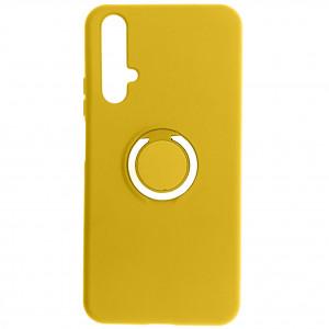 Чехол Silicone Cover с кольцом  для Huawei Honor 20
