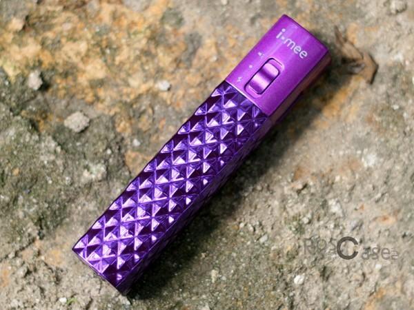 Дополнительный внешний аккумулятор Melkco i-mee 3000 (1A) (Фиолетовый)Описание:производитель  - &amp;nbsp;Melkco;совместимость  -  универсальная (смартфон, плейер, планшет и др.);материал  -  пластиковый корпус;тип  -  внешний аккумулятор.&amp;nbsp;Особенности:емкость  -  3000 mAh;вход  - &amp;nbsp;5V/2.1A, выход - 5V/2.1A;заряжается в течение 4х часов;компактный;встроен фонарик;индикатор заряда батареи;размер - 15*35*75 мм;вес 85 граммов.<br><br>Тип: Внешний аккумулятор<br>Бренд: Melkco
