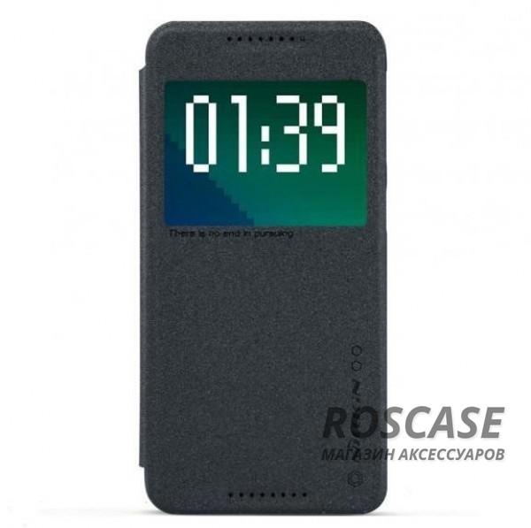 Кожаный чехол (книжка) Nillkin Sparkle Series для HTC Desire 626/Desire 626G+ Dual Sim (Черный)Описание:бренд&amp;nbsp;Nillkin;изготовлен специально для HTC Desire 626/Desire 626G+ Dual Sim;материал: искусственная кожа, поликарбонат;тип: чехол-книжка.Особенности:не скользит в руках;защита от механических повреждений;интерактивное окошко;функция Sleep mode;не выгорает;блестящая поверхность;надежная фиксация.<br><br>Тип: Чехол<br>Бренд: Nillkin<br>Материал: Искусственная кожа