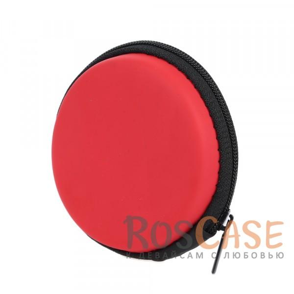 Жесткий чехол-футляр для наушников с застежкой на молнии (Красный)Описание:тип - чехол для наушников;материал - нейлон;застежка на молнии;ударопрочный;сетка для фиксации ;защита от пыли, влаги, механических повреждений.<br><br>Тип: Общие аксессуары<br>Бренд: Epik