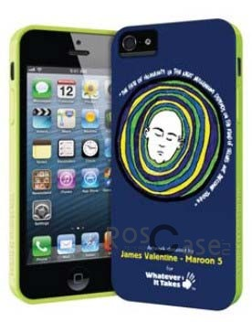 Фото силиконового чехла Premium Gel Shell (James Valentine) для Apple iPhone 5 / 5S