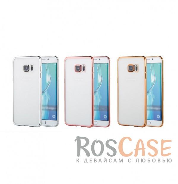 Прозрачный силиконовый чехол для Samsung Galaxy S6 G920F/G920D Duos с глянцевой окантовкойОписание:подходит для Samsung Galaxy S6 G920F/G920D Duos;материал - силикон;тип - накладка.Особенности:глянцевая окантовка;прозрачный центр;гибкий;все вырезы в наличии;не скользит в руках;ультратонкий.<br><br>Тип: Чехол<br>Бренд: Epik<br>Материал: Силикон