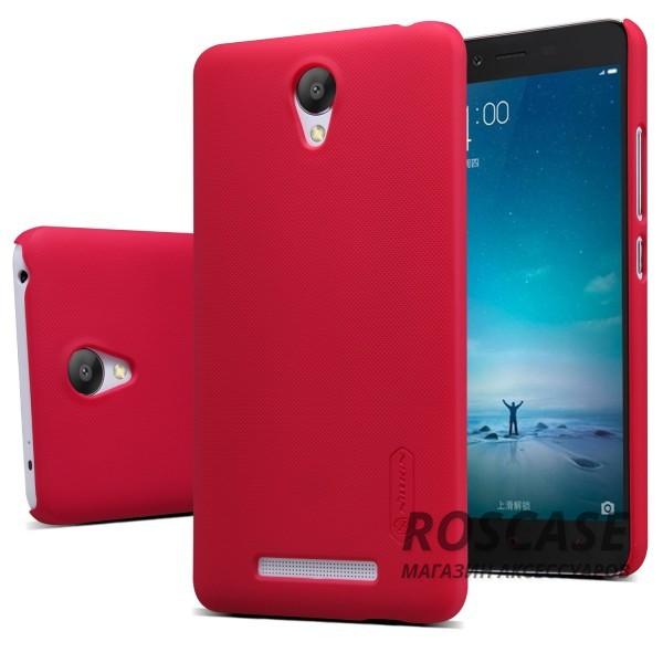 Чехол Nillkin Matte для Xiaomi Redmi Note 2 / Redmi Note 2 Prime (+ пленка) (Красный)Описание:производитель -&amp;nbsp;Nillkin;материал - поликарбонат;совместим с Xiaomi Redmi Note 2 / Redmi Note 2 Prime;тип - накладка.&amp;nbsp;Особенности:матовый;прочный;тонкий дизайн;не скользит в руках;не выцветает;пленка в комплекте.<br><br>Тип: Чехол<br>Бренд: Nillkin<br>Материал: Поликарбонат