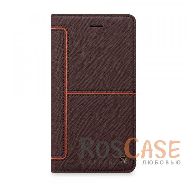 Чехол-книжка STIL Hidden Edge Series для Apple iPhone 7 (4.7) (+ карман для визиток) (Коричневый / Оранжевый)Описание:бренд&amp;nbsp;STIL;подходит для Apple iPhone 7 (4.7);материалы - синтетическая кожа, пластик;тип - чехол-книжка.<br><br>Тип: Чехол<br>Бренд: Stil<br>Материал: Искусственная кожа