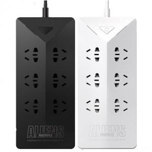 Remax Aliens RU-S4 | Сетевой фильтр на 6 универсальных розеток и 5 USB портов (1.8м)