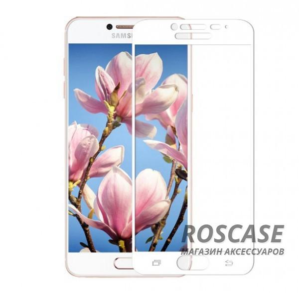 Защитное стекло CP+ на весь экран (цветное) для Samsung Galaxy C5 (Белый)Описание:компания&amp;nbsp;Epik;совместимо с Samsung Galaxy C5;материал: закаленное стекло;тип: защитное стекло на экран.Особенности:полностью закрывает дисплей;толщина - 0,3 мм;цветная рамка;прочность 9H;покрытие анти-отпечатки;защита от ударов и царапин.<br><br>Тип: Защитное стекло<br>Бренд: Epik