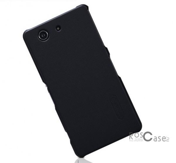 Чехол Nillkin Matte для Sony Xperia Z3 Compact (+ пленка) (Черный)Описание:Чехол изготовлен компанией&amp;nbsp;Nillkin;Спроектирован для Sony Xperia Z3 Compact;Материал  -  пластик;Форма  -  накладка.Особенности:Полностью защищен от появления потертостей;В комплект входит глянцевая пленка;Имеет ребристое матовое покрытие и антикислотное напыление;Тонкий дизайн.<br><br>Тип: Чехол<br>Бренд: Nillkin<br>Материал: Поликарбонат
