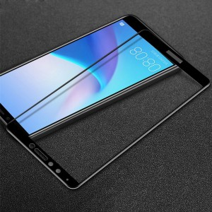 Caisles 5D | Гибкое защитное стекло для Huawei Y9 (2018) / Enjoy 8 Plus на весь экран