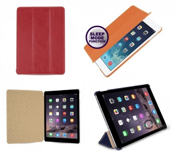 фото кожаный чехол (книжка) TETDED для Apple iPad Air 2