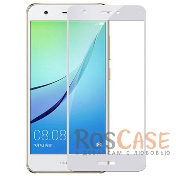 Тонкое олеофобное защитное стекло с цветной рамкой на весь экран для Huawei Nova 2 (Белый)Описание:разработано для Huawei Nova 2;защита экрана от ударов и царапин;олеофобное покрытие анти-отпечатки;ультратонкое;высокая прочность 9H;полностью закрывает экран;цветная рамка.<br><br>Тип: Защитное стекло<br>Бренд: Mocolo