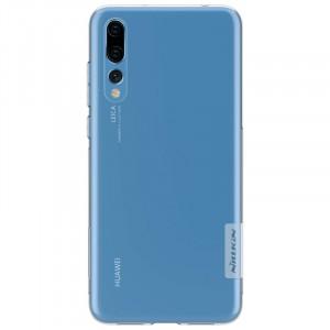 Nillkin Nature | Прозрачный силиконовый чехол для Huawei P20 Pro