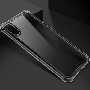 """ROCK Fence Pro   Прозрачный чехол для Apple iPhone X (5.8"""")/XS (5.8"""") с укрепленными бортами"""