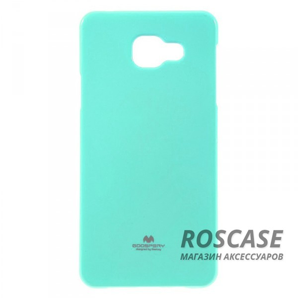фото Бирюзовый TPU чехол Mercury Jelly Color series для Samsung A710F Galaxy A7 (2016)