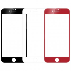 """Защитное 3D стекло с цветной рамкой на весь экран для Apple iPhone 7 / 8 (4.7"""")"""