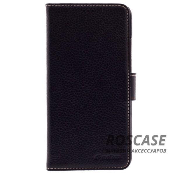Кожаный чехол (книжка) Melkco для Meizu M3 Note (Черный)Описание:производитель  - &amp;nbsp;Melkco;совместим с Meizu M3 Note;материал  -  натуральная кожа;форма  -  чехол-книжка.&amp;nbsp;Особенности:защита со всех сторон;имеет все функциональные вырезы;легко очищается;магнитная застежка;кармашки для карточек;защищает от механических повреждений;не скользит в руках.<br><br>Тип: Чехол<br>Бренд: Melkco<br>Материал: Натуральная кожа