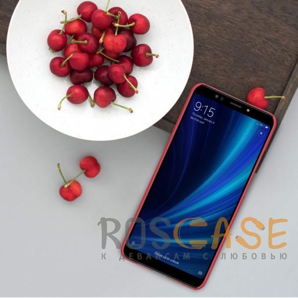 Изображение Красный Nillkin Super Frosted Shield | Матовый чехол для Xiaomi Mi 6X / Mi A2