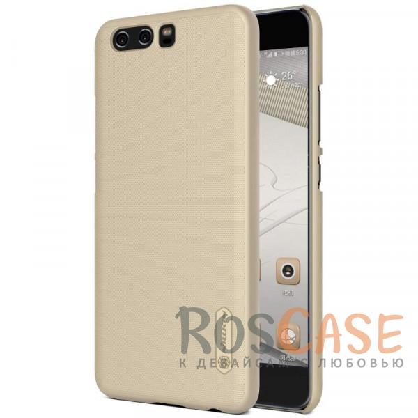 Матовый чехол для Huawei P10 Plus (+ пленка) (Золотой)Описание:бренд&amp;nbsp;Nillkin;совместим с Huawei P10 Plus;материал: поликарбонат;рельефная фактура;тип: накладка;в наличии все функциональные вырезы;закрывает заднюю панель и боковые грани;не скользит в руках;защищает от ударов и царапин.<br><br>Тип: Чехол<br>Бренд: Nillkin<br>Материал: Поликарбонат