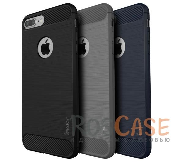 TPU чехол iPaky Slim Series для Apple iPhone 7 plus (5.5) (Серый)Описание:бренд - iPaky;совместим с Apple iPhone 7 plus (5.5);материал: термополиуретан;тип: накладка.Особенности:эластичный;свойство анти-отпечатки;защита углов от ударов;ультратонкий;защита боковых кнопок;надежная фиксация.<br><br>Тип: Чехол<br>Бренд: Epik<br>Материал: TPU