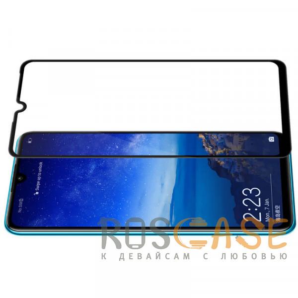 Изображение Черный 5D защитное стекло для Huawei P30 lite / Nova 4E на весь экран