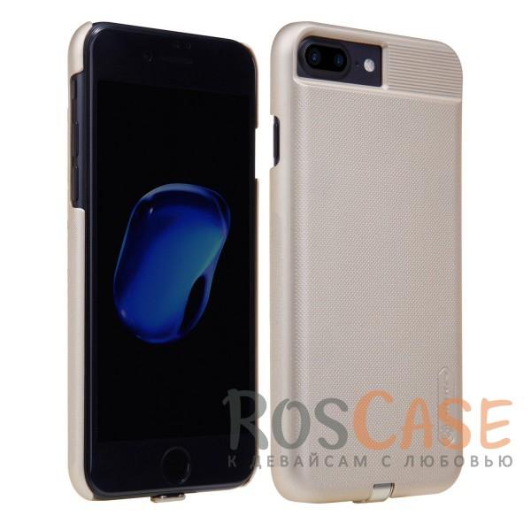 Изображение Золотой Nillkin Magic Qi   Чехол для Apple iPhone 7 plus (5.5) с модулем беспроводной зарядки