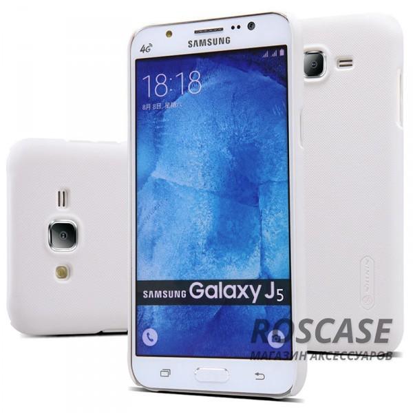 Чехол Nillkin Matte для Samsung J500H Galaxy J5 (+ пленка) (Белый)Описание:производитель -&amp;nbsp;Nillkin;материал - поликарбонат;совместим с Samsung J500H Galaxy J5;тип - накладка.&amp;nbsp;Особенности:матовый;прочный;тонкий дизайн;не скользит в руках;не выцветает;пленка в комплекте.<br><br>Тип: Чехол<br>Бренд: Nillkin<br>Материал: Поликарбонат