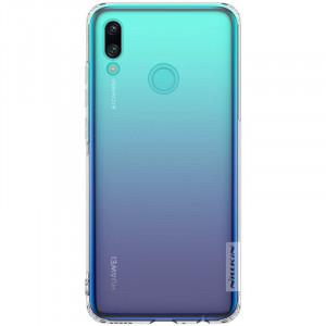 Nillkin Nature | Прозрачный силиконовый чехол для Huawei P Smart (2019) / Honor 10 Lite