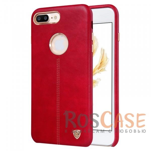 Кожаная накладка Nillkin Englon Series для Apple iPhone 7 plus (5.5) (Красный)Описание:произведено брендом&amp;nbsp;Nillkin;совместимость - Apple iPhone 7 plus (5.5);материал: натуральная кожа, микрофибра;тип: накладка.&amp;nbsp;Особенности:ультратонкий дизайн;фактурная поверхность;декоративная строчка;не скользит в руках;защищает заднюю панель и боковые грани.<br><br>Тип: Чехол<br>Бренд: Nillkin<br>Материал: Натуральная кожа