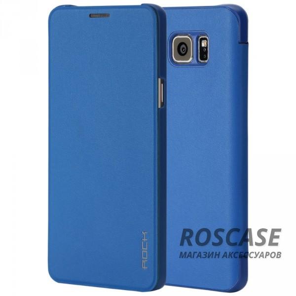 Чехол (книжка) Rock Touch series для Samsung Galaxy Note 5 (Синий / Blue)Описание:производитель -&amp;nbsp;ROCK;совместим с Samsung Galaxy Note 5;материал: искусственная кожа;тип: чехол-книжка.Особенности:все функциональные вырезы в наличии;на чехле не заметны отпечатки пальцев;защита от механических повреждений;матовый;не скользит в руках.<br><br>Тип: Чехол<br>Бренд: ROCK<br>Материал: Искусственная кожа