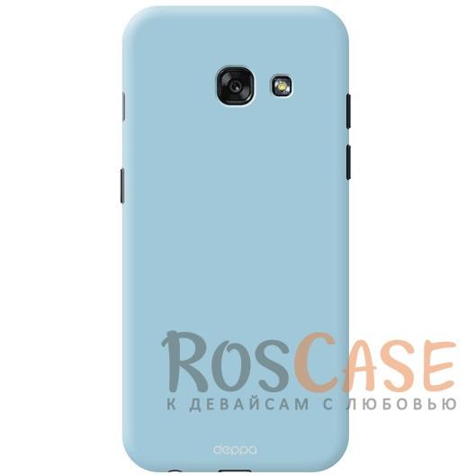 Чехол Air Case Deppa (soft touch) для Samsung A520 Galaxy A5 (2017) (Голубой)Описание:компания Deppa;создан для модели устройства&amp;nbsp;Samsung A520 Galaxy A5 (2017);материал - поликарбонат;тип - накладка.<br><br>Тип: Чехол<br>Бренд: Epik<br>Материал: Поликарбонат