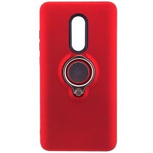Deen | Матовый чехол для Xiaomi Redmi Note 4X / Note 4 (SD) с креплением под магнитный держатель и кольцом-подставкой