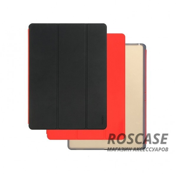 Чехол (книжка) Rock Phantom Series для Apple iPad Pro 12,9 (Черный / Красный)Описание:производитель -&amp;nbsp;ROCK;совместим с Apple iPad Pro 12,9;материал: искусственная кожа;тип: чехол-книжка.Особенности:все функциональные вырезы в наличии;двухцветную обложку можно переставлять, меняя цвет чехла;трансформируется в подставку;функция Sleep mode;защита от механических повреждений;матовый;не скользит в руках.<br><br>Тип: Чехол<br>Бренд: ROCK<br>Материал: Искусственная кожа