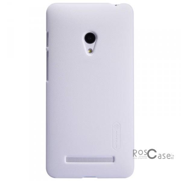 Чехол Nillkin Matte для Asus Zenfone 5 (A501CG) (+ пленка) (Белый)Описание:Чехол изготовлен компанией&amp;nbsp;Nillkin;Спроектирован для модели смартфона&amp;nbsp;Asus Zenfone 5&amp;nbsp;(A501CG);При изготовлении использовался пластик;Форма  -  накладка.Особенности:Изысканный и стильный дизайн;Ультратонкая структура;Исключена возможность появления царапин и потертостей;Разнообразная цветовая палитра;В комплекте к накладке идет защитная пленка;Уникальный антикислотный поверхностный слой.<br><br>Тип: Чехол<br>Бренд: Nillkin<br>Материал: Поликарбонат