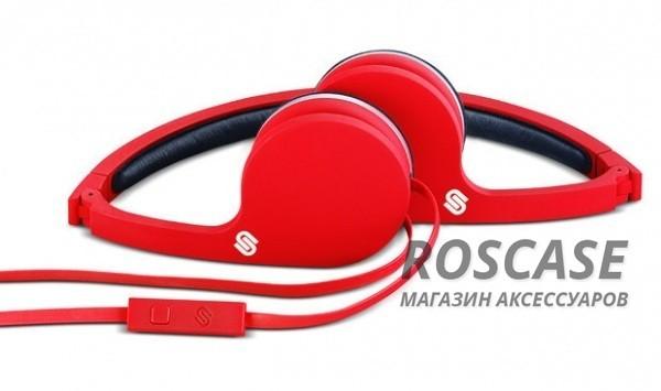 Проводная гарнитура Urbanista Barcelona (Красный)Описание:производитель  -  Urbanista;разъем  -  3,5 mini jack;тип  -  накладные наушники.&amp;nbsp;Особенности:чехол в комплекте;микрофон;наушники складываются;полное сопротивление: 16 Ом;чувствительность  -  105 Дб;частотный диапазон  -  15-16000&amp;nbsp;Гц;длина кабеля - 85 см&amp;nbsp;+ удлиняющий кабель 28 см;вес - 70 г.<br><br>Тип: Наушники/Гарнитуры<br>Бренд: Epik