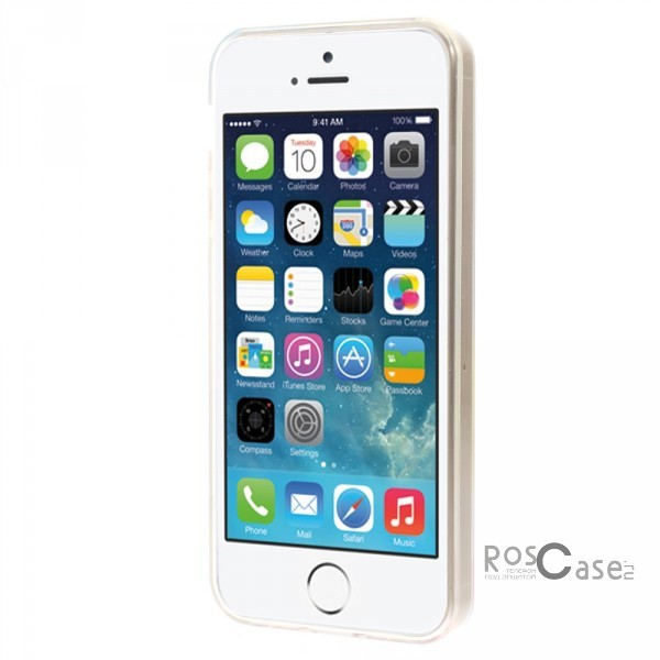"фото TPU чехол 0.7mm Print ""Следы капель"" для Apple iPhone 5/5S/5SE"