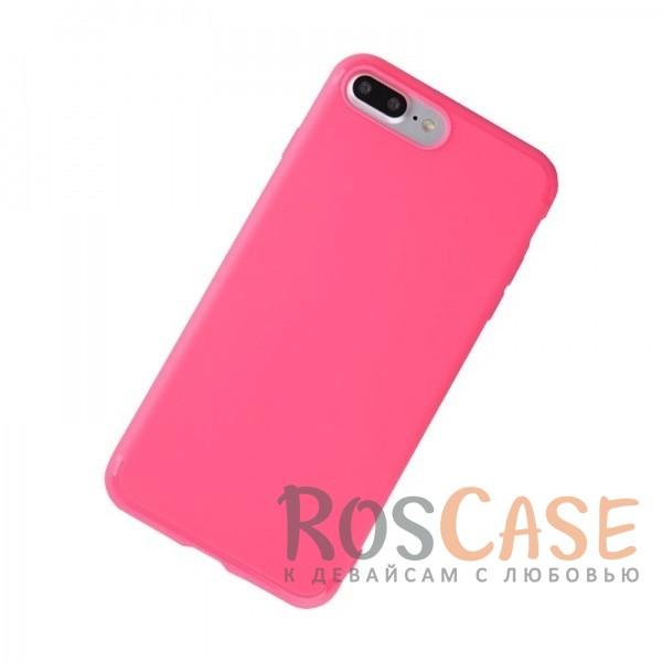 TPU чехол Rock Jello Series для Apple iPhone 7 plus (5.5) (Розовый  / Rose red)Описание:произведен фирмой Rock;совместим с Apple iPhone 7 plus (5.5);материал  -  термополиуретан;тип  -  накладка.&amp;nbsp;Особенности:имеются все функциональные вырезы;матовая поверхность;не скользит;амортизирует удары;на ней не видны следы от пальцев;защищает от царапин.<br><br>Тип: Чехол<br>Бренд: ROCK<br>Материал: Пластик