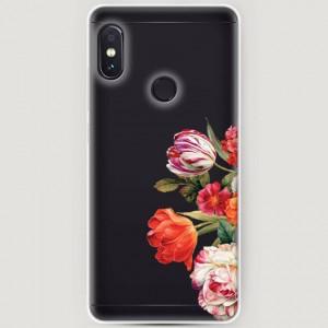 RosCase | Силиконовый чехол Весенний букет на Xiaomi Redmi Note 5 Pro / Note 5 (AI Dual Camera)