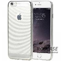 фото Серый / Grey TPU чехол ROCK Ultrathin Flame Series для Apple iPhone 6/6s (4.7